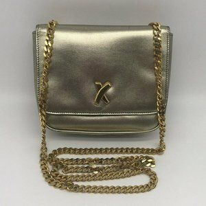 Paloma Picasso Gold Small Cross Body Bag